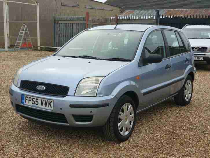 2005 Ford Fusion 1.4 2 5dr Hatchback Petrol Manual
