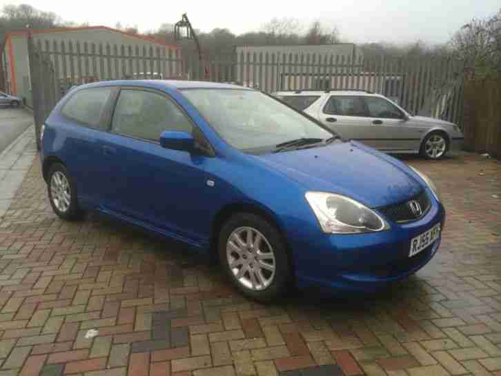 2005 HONDA CIVIC SE I-VTEC FULL HISTORY LOW MILES HATCHBACK PETROL