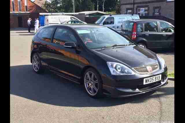 2005 CIVIC TYPE R BLACK ep3