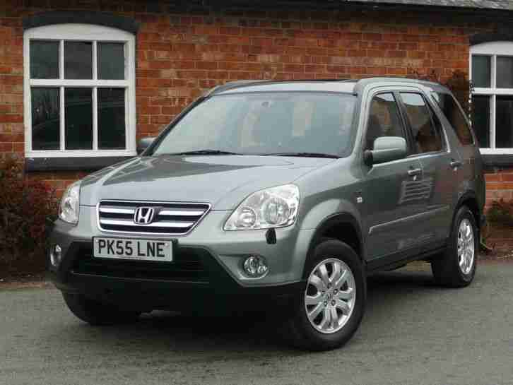 Honda 2005 cr v 2 0 i vtec sport 4wd 4x4 estate petrol for Gray honda crv