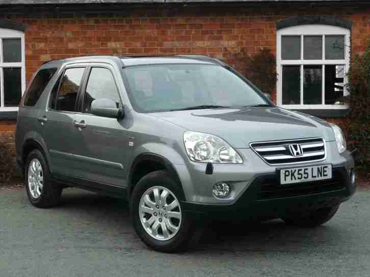honda 2005 cr v 2 0 i vtec sport 4wd 4x4 estate petrol manual silver. Black Bedroom Furniture Sets. Home Design Ideas
