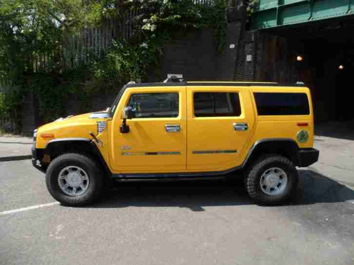 2005 HUMMER H2 6.0 V8 STUNNING CONDITION IN VGC THROUGHOUT