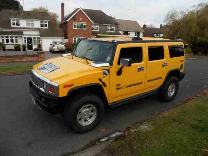 2005 HUMMER H2 6.0 V8 STUNNING CONDITION THROUGHOUT SUV