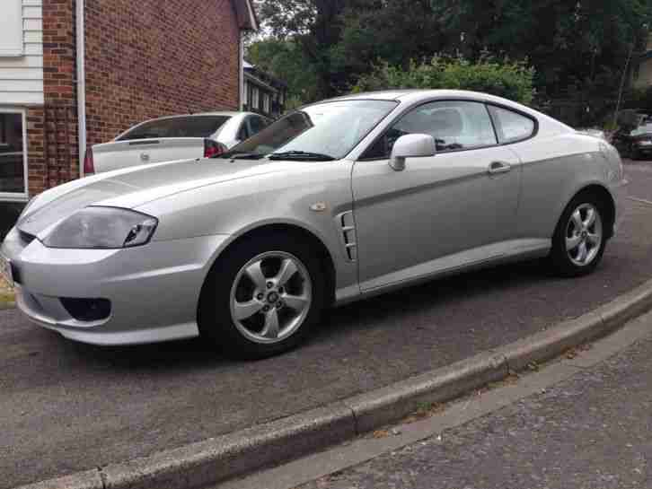 hyundai 2005 coupe s silver new mot spares or repairs no reserve. Black Bedroom Furniture Sets. Home Design Ideas