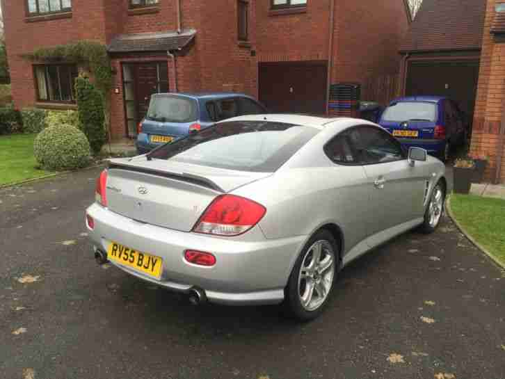2005 HYUNDAI COUPE SE SILVER (Full Service History -only 90,000 miles)