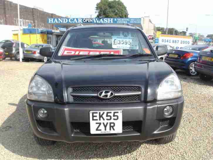 2005 Hyundai Tucson 2.0 CRTD GSI 5dr 5 door Estate