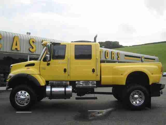 2005 international cxt american pick up crew cab 4x4 7 6 diesel uk. Black Bedroom Furniture Sets. Home Design Ideas