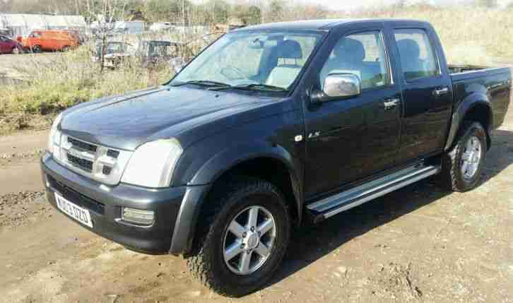 2005 ISUZU RODEO 3.0TD Denver Max Double Cab 4x4 Auto NO VAT TO PAY