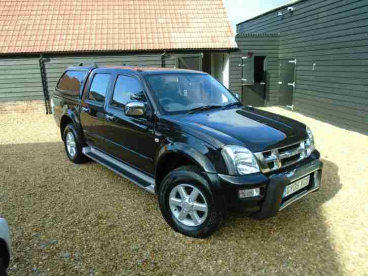 Isuzu Rodeo. Isuzu car from United Kingdom