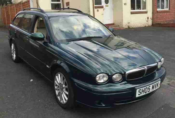 jaguar 2005 x type 2 0 diesel estate car for sale. Black Bedroom Furniture Sets. Home Design Ideas