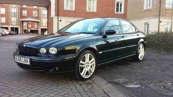 Jaguar 2005 X Type Sprt Premium Awd A Black Car For Sale