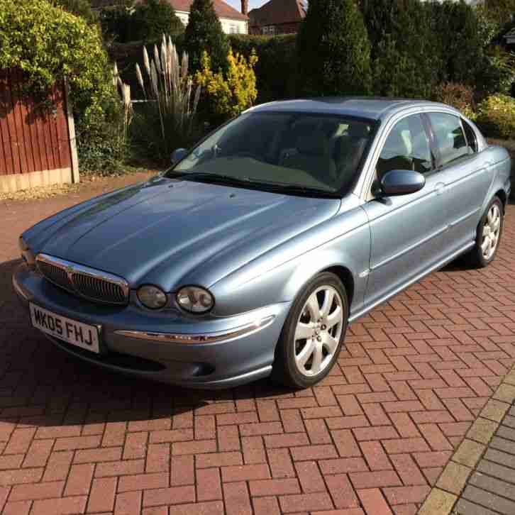 Jaguar Rental Car: Jaguar 2005 X TYPE V6 SE AUTO BLUE. Car For Sale