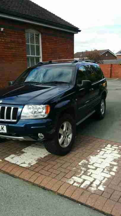 2005 JEEP GRAND CHEROKEE CRD LTD AUTO BLUE