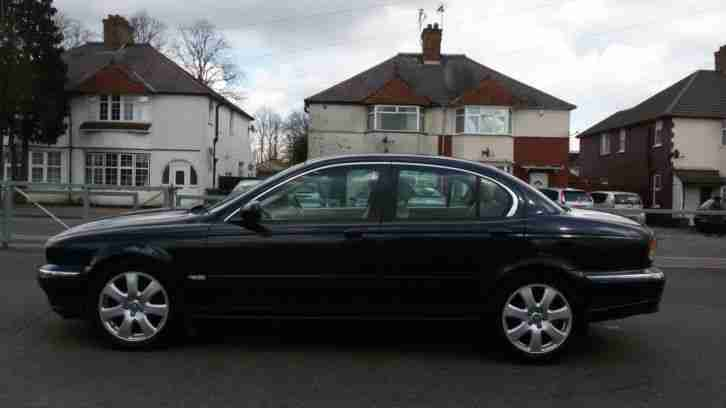 2005 Jaguar X-Type 2.2D Diesel HPI Clear FSH Leather SatNav 6-speed as 320d c220