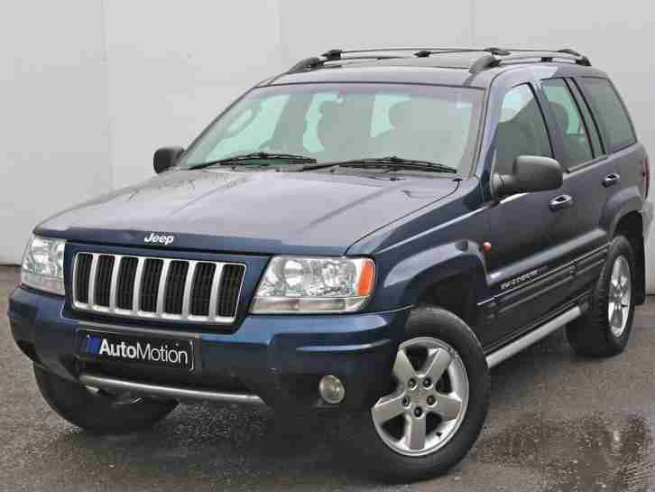 2005 Jeep Grand Cherokee 2.7 CRD XS Station Wagon 5dr