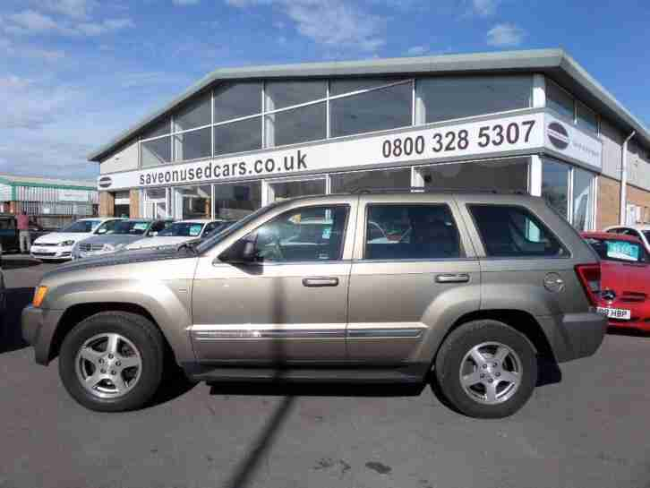 2005 Grand Cherokee 3.0 CRD Limited 5dr