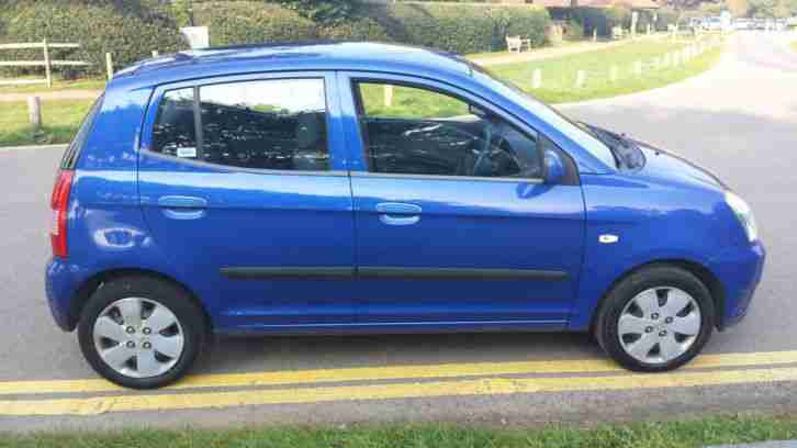 kia 2005 picanto 1 0 gs blue 59000 miles car for sale. Black Bedroom Furniture Sets. Home Design Ideas