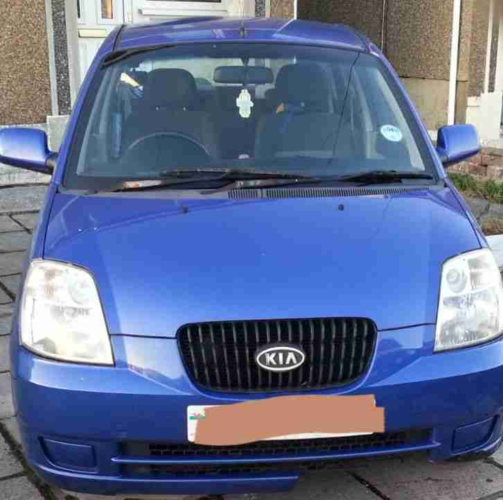 2005 PICANTO GS BLUE SPARES OR REPAIR.