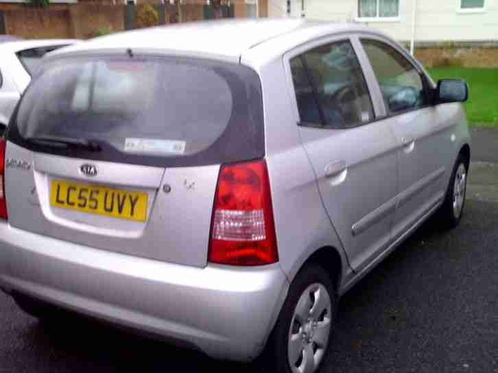 kia 2005 picanto lx silver for repair or spares car for sale. Black Bedroom Furniture Sets. Home Design Ideas