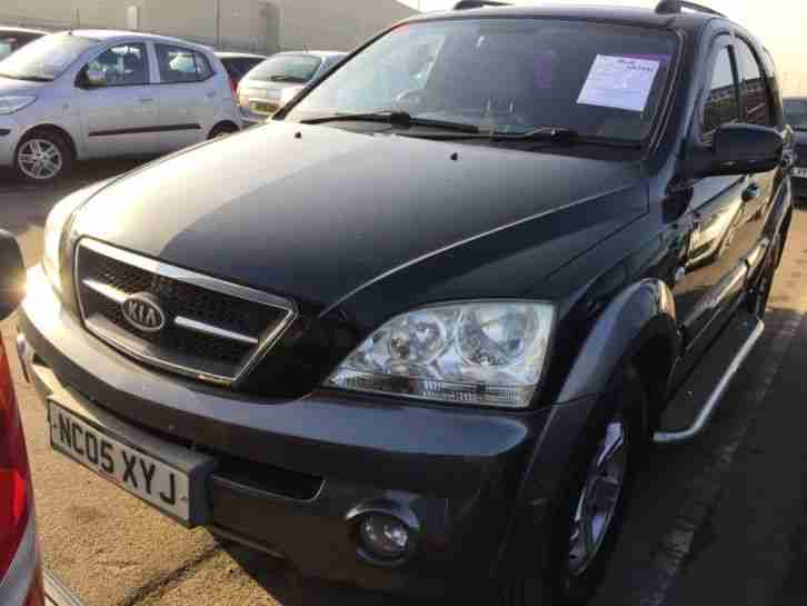 2005 KIA SORENTO 2.5 CRDI XS AUTOMATIC 6 STAMPS, LEATHER, PAN ROOF, CLIMATE