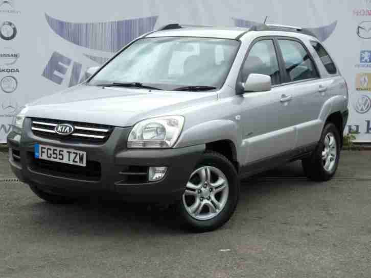 2005 SPORTAGE 2.0 XE 4WD TOWBAR 16 INCH