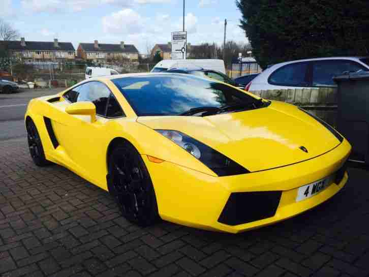 lamborghini 2005 gallardo yellow car for sale. Black Bedroom Furniture Sets. Home Design Ideas