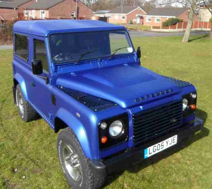 2005 LAND ROVER DEFENDER 90 TD5. Car For Sale