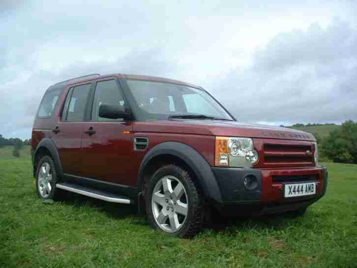 2005 Land Rover Discovery 3 Tdv6 Auto Red Hse Car For Sale