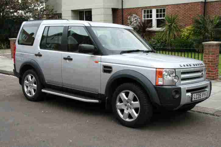 2005 land rover discovery 3 tdv6 auto silver car for sale. Black Bedroom Furniture Sets. Home Design Ideas