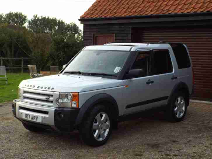 2005 land rover discovery 3 tdv6 hse auto silver car for sale. Black Bedroom Furniture Sets. Home Design Ideas