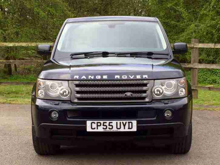 2005 LAND ROVER RANGE ROVER SPORT V8 HSE AUTO AUTOMATIC 4.4 BLUE RANGEROVER