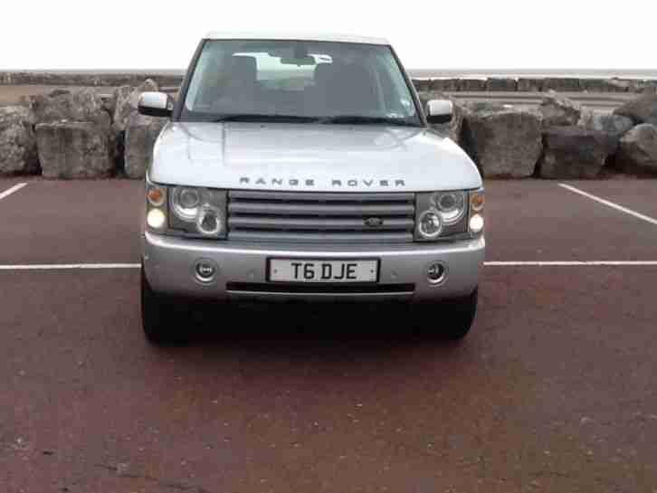 2005 land rover range rover vogue td6 aut silver car for sale. Black Bedroom Furniture Sets. Home Design Ideas