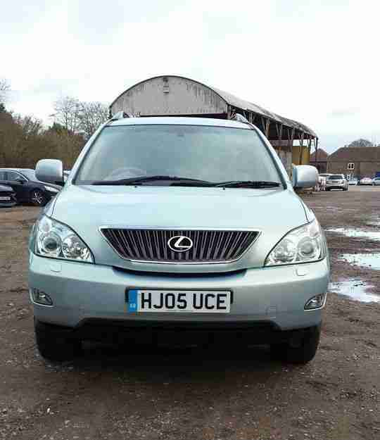 Lexus Rx 2005 2006 Automatic Transmission Speed: Lexus 2005 RX300 AUTO RARE TURQUOISE F S H 3.0 V6 PETROL