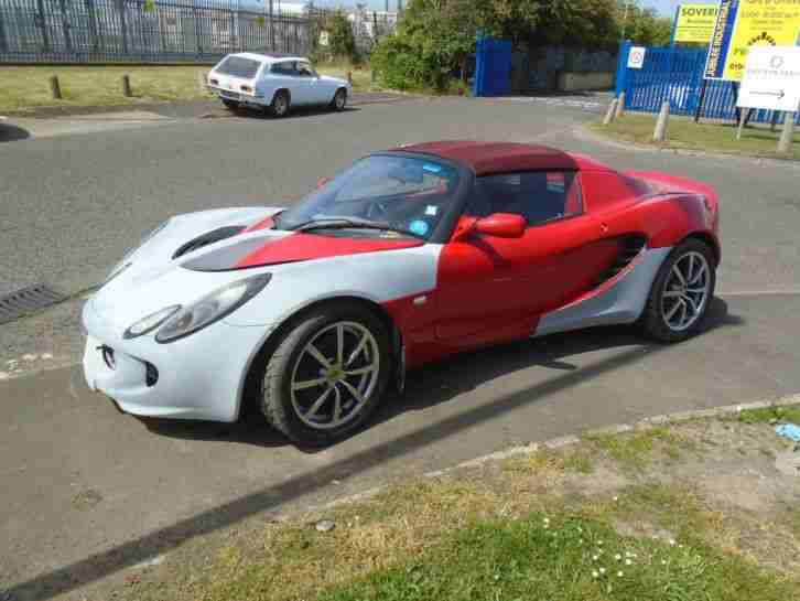 2005 LOTUS ELISE 111S 1.8 JJUST NEEDS PREP AND PAINT TO FINISH