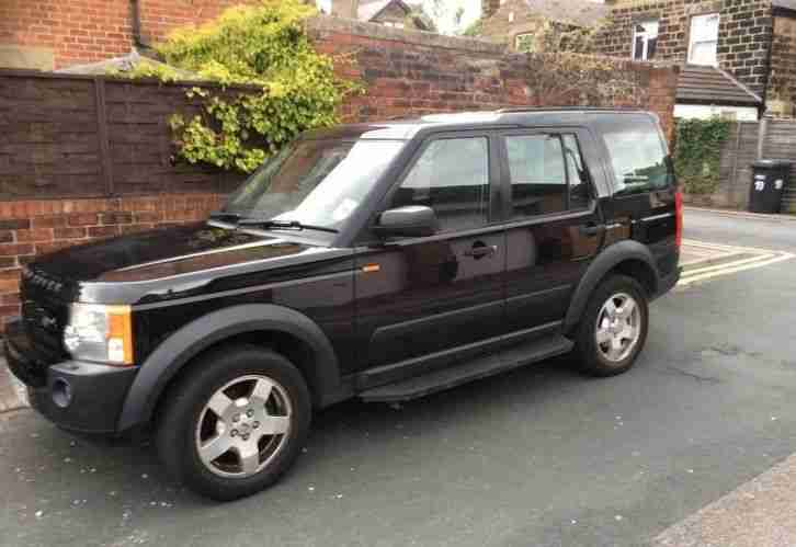 2005 Land Rover DISCOVERY 3 2.7 TD V6 S BLACK