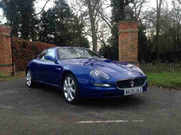 2005 COUPE CAMBIOCORSA BLUE STUNNING