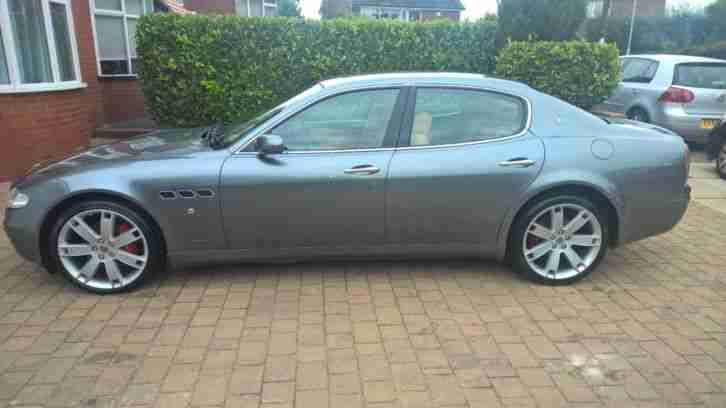 2005 MASERATI QUATTROPORTE AB4 S-A GREY IMMACULATE CONDITION LOVEL SPEC