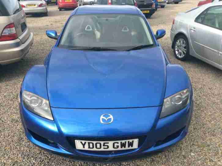 2005 MAZDA RX-8 192 PS BLUE