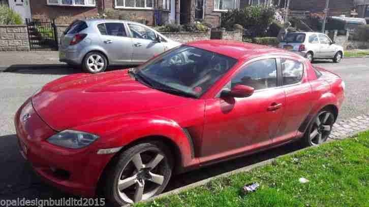 2005 RX 8 192 PS RED