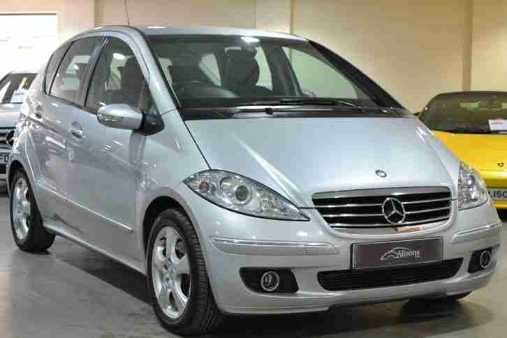 mercedes benz 2005 a class a200 cdi avantgarde se 5dr car for sale. Black Bedroom Furniture Sets. Home Design Ideas