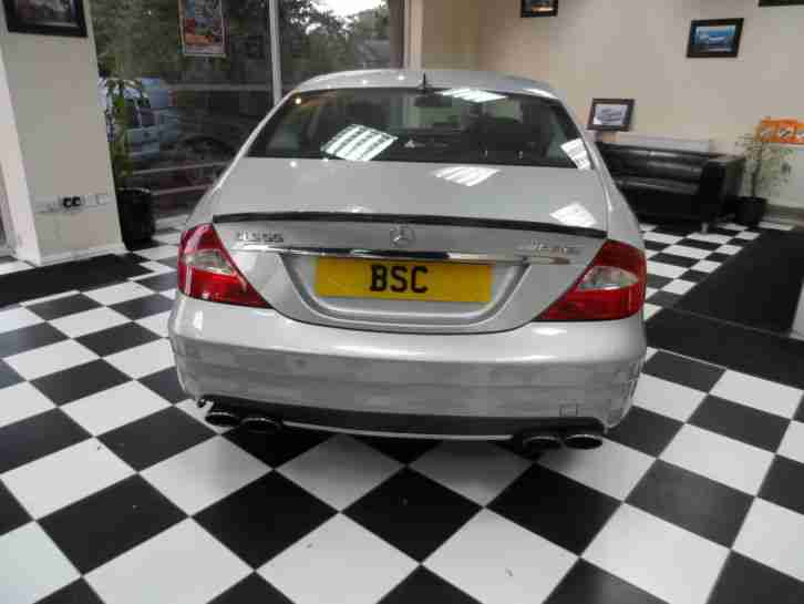 2005 MERCEDES CLS 55 AMG AUTO SILVER