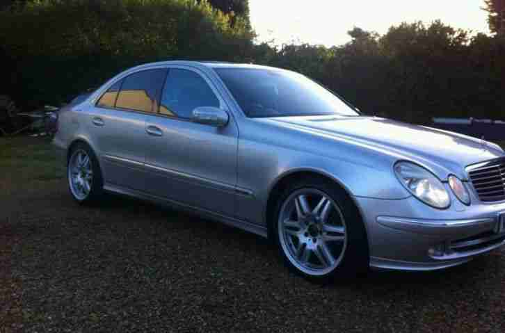 2005 mercedes e270 cdi avantgarde auto 12mnths mot low miles e220 e280. Black Bedroom Furniture Sets. Home Design Ideas