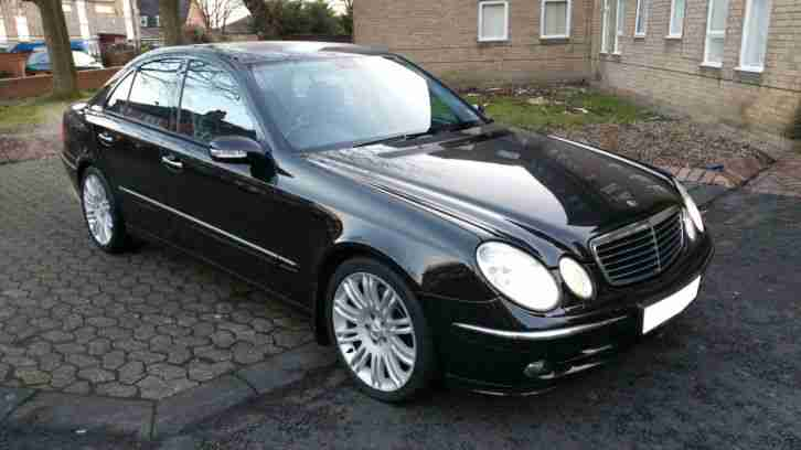 2005 Mercedes E280 Cdi Sport 7g Auto Black Car For Sale