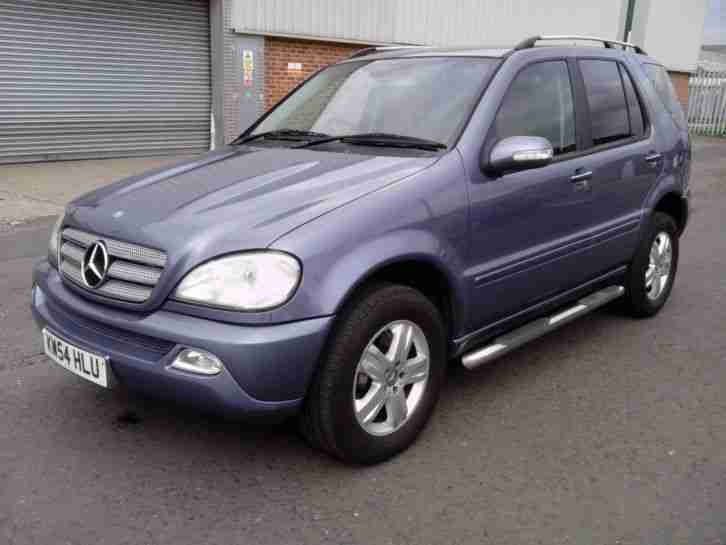 2005 MERCEDES ML270 CDI SPECIAL EDITION AUTO BLUE