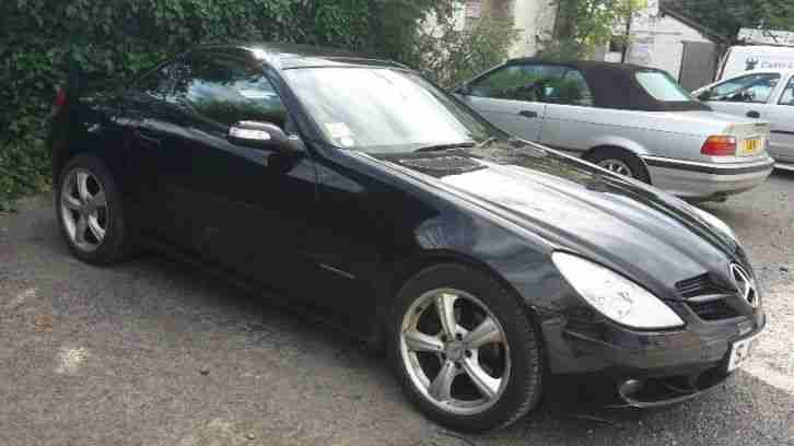 2005 mercedes slk 200 kompressor auto black car for sale. Black Bedroom Furniture Sets. Home Design Ideas