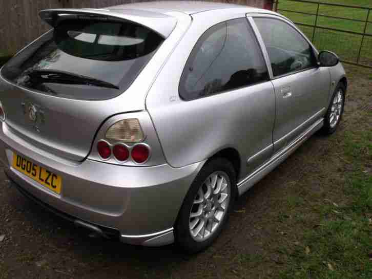 2005 MG ZR 105 SILVER ## SPARES OR REPAIR ## NO RESERVE AUCTION ##