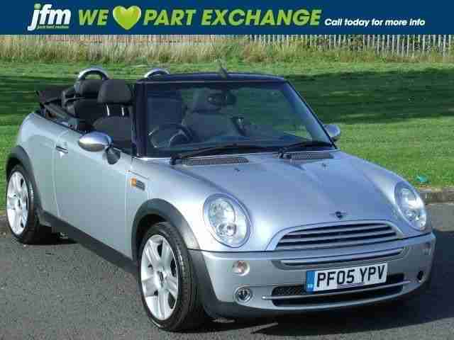 2005 CONVERTIBLE 1.6 One 52 MPG COOPER