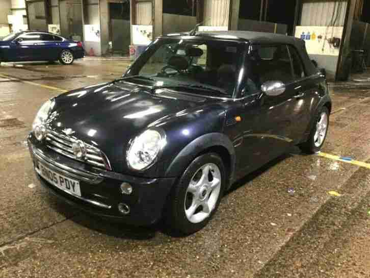2005 MINI COOPER 1.6 CONVERTIBLE ALLOYS, P SENORS, AIRCON, NICE