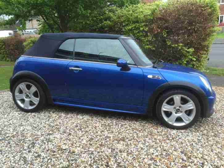 mini 2005 cooper s blue car for sale. Black Bedroom Furniture Sets. Home Design Ideas