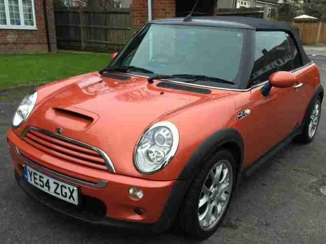 mini 2005 cooper s convertible full leather low miles. Black Bedroom Furniture Sets. Home Design Ideas